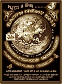 earth night poster